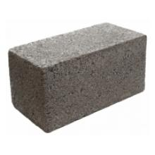 Полнотелый керамзитобетонный блок